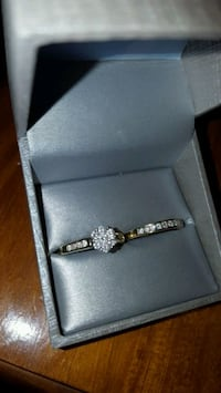 Channel Set Diamond Engagement ring with band Chesapeake, 23320