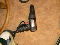 black and red corded power tool 307 mi