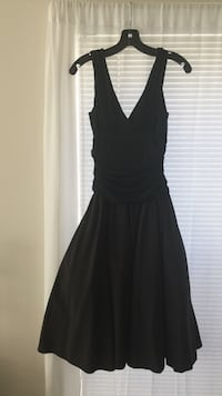 Black fitted ball dress with ruching at waist  Woodbridge, 22191