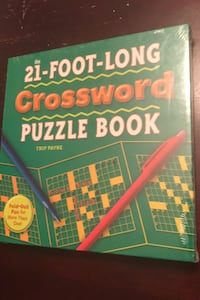 The 21-Foot-Long Crossword Puzzle Book Cambridge, N3C 0C4