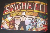 Old Spaghetti Factory Gift Card Brampton