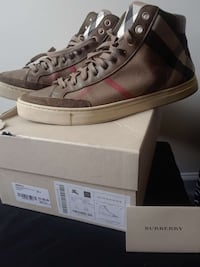 100% Authentic Burberry Sneakers  Montgomery Village, 20886
