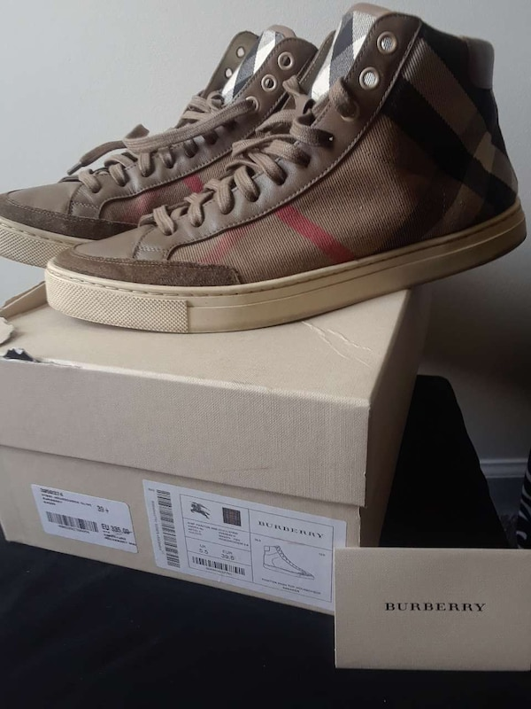100% Authentic Burberry Sneakers