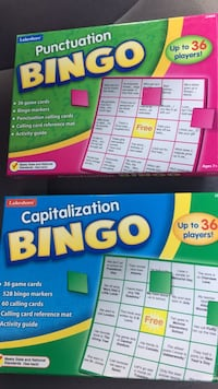 New Lakeshore Capitalization Bingo JJ179 & New Lakeshore Punctuation Bingo JJ404 Columbia, 21045