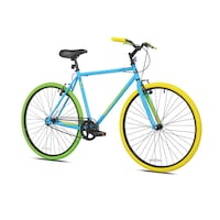 "New- Kent 27.5 "" single speed city bike blue/green/yellow"