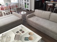 Two great slipper sofas with storage unit Morris Plains, 07950