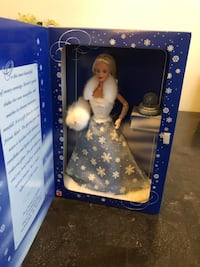 white and blue dressed doll Keyport, 07735