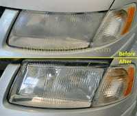 Car headlight restoration Waterloo, N2J 3V5