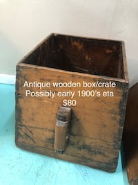 brown and black wooden chest Woodbridge, 22193