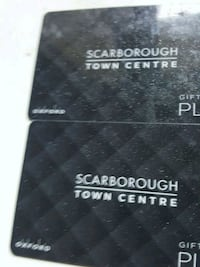 Scarborough town center/yorkdale gift cards Toronto, M1P 4P5