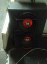 10 inch powered Subs