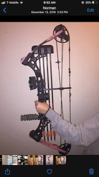 Diamond Razor Edge Compound Bow
