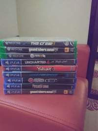 Xbox one and ps4 games Hamilton