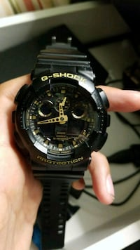 round black Casio G-Shock digital watch Mississauga, L5M 5V2