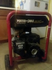 Porter cable electric generator Omaha, 68111