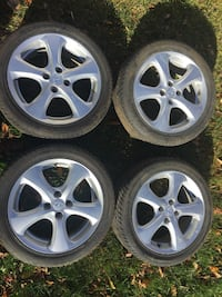 Tires 205/45/16. Brand new w/ factory rims