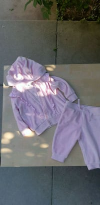 Baby Girls Soft Velour Suit Oshawa, L1G
