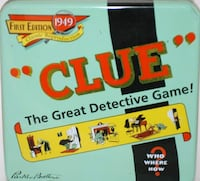 1949 Clue Reproduction null