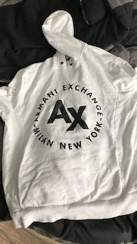 Never worn Armani exchange Hoodie M Delta, V4C 2C6