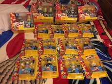 The Simpsons characters action figures