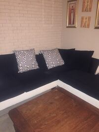Black and white sectional sofa Jackson, 39211