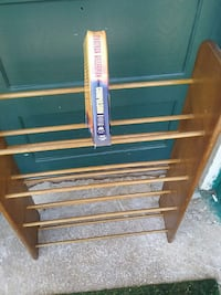 shoe rack or Book Rack solid wood