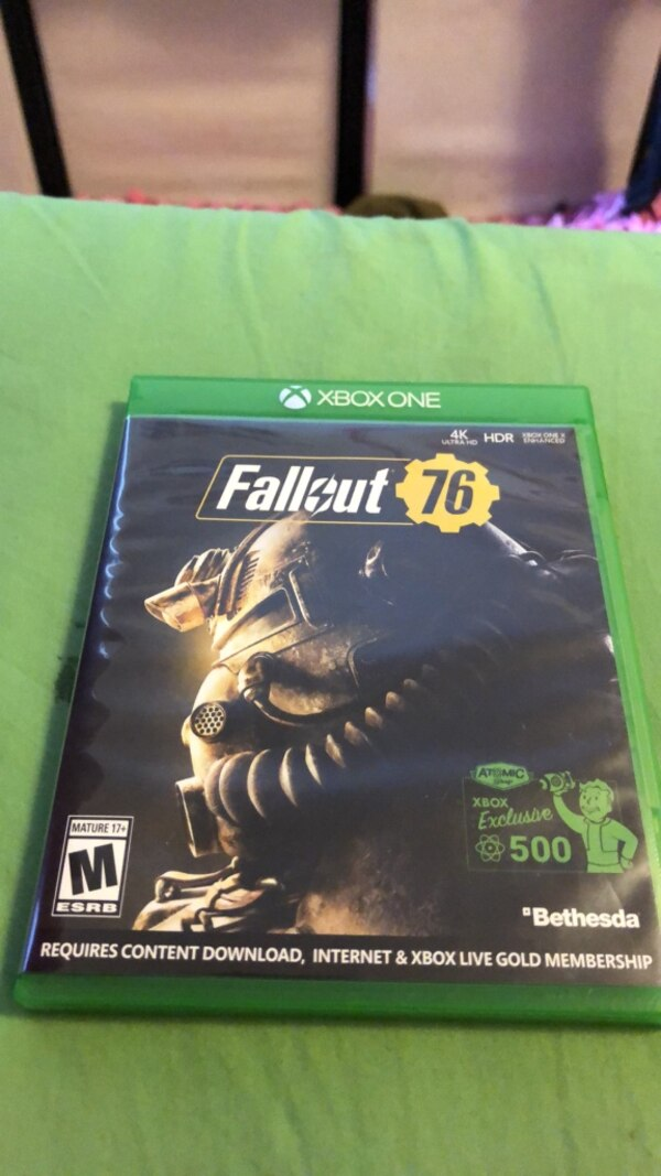Fallout 76 Xbox One (Already used atomics code)