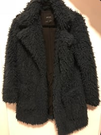 Teddy coat from zara - size medium