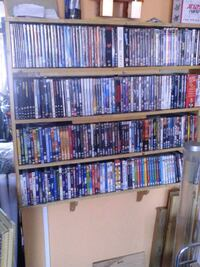 assorted DVD collection