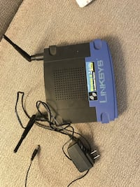 linksys - WRT54GL router / network switch