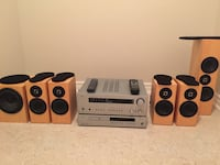 Arcam Receiver, Arcam DVD Player and Totem Speakers