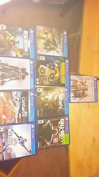 9 ps4 games St Catharines, L2T 1A8