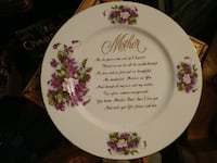 white decorative plate McMinnville, 97128