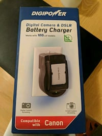Digital Camera and DSLR battery charger Toronto, M6B 2J7