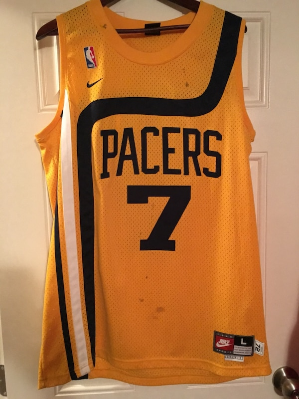 outlet store f9f3c 177e7 Retro Indiana Pacers Jersey