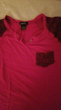 pink Ralph Lauren polo shirt Round Lake Beach, 60073