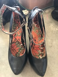 Lucille High Heels w Ankle Cuff Size 11 Phenix City, 36869