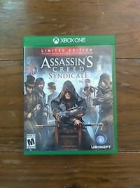 Assassin's Creed Syndicate Xbox One game case Hamilton, 45013