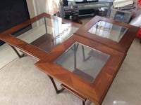 Coffee table set with 2 side table- set of 3 Ashburn, 20147