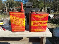 Vintage gas cans CHARLOTTE