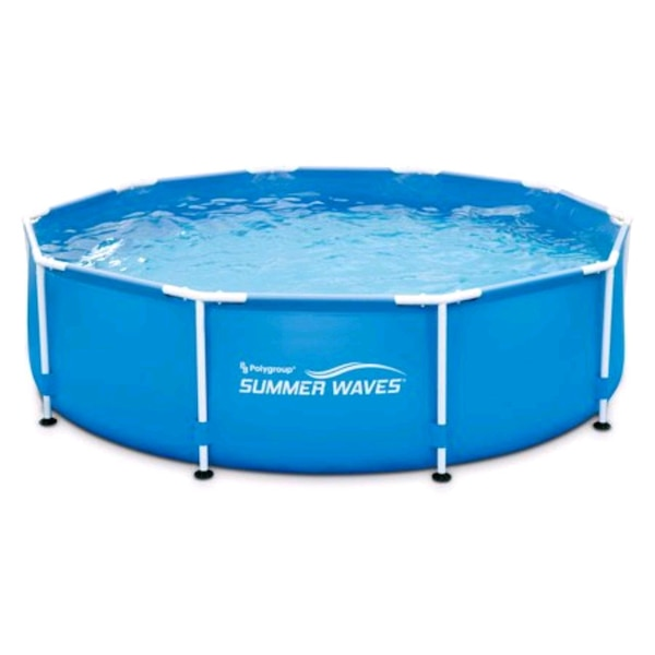 10FT round above ground swimming pool