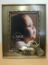 """CARR"" Brass Photo Frame  Mississauga, L5N 2X2"