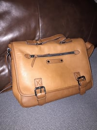 Tan over the shoulder messenger bag  Regina, S4T 5N5