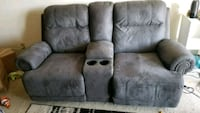 Reclining Couch gray Milwaukee