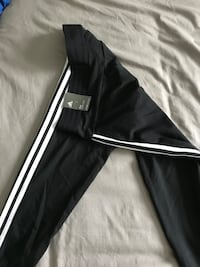 black and white Adidas track pants Bolton, L7E 3X4