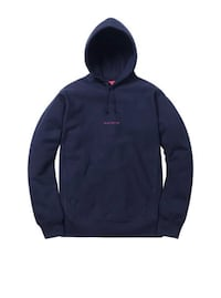 Supreme compact logo sweater (Navy) Mississauga, L5G 1E9