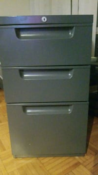 fire-proof pedestal file cabinet Toronto, M6B 3H3