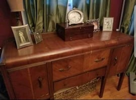 Antique Waterfall Buffet