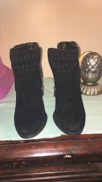 Black Jessica Simpson booties size 9 1/2 worn 2 times Chester, 19013