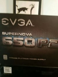 EVGA Power Supply Supernova 650P2  Burke